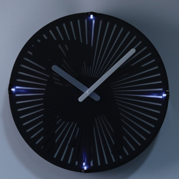 Dog Moving Wall Clocks with Light