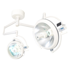 China for Double Dome Halogen Operating Lamp Double head Halogen operating light ot light supply to Togo Factories