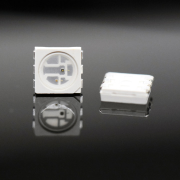 5050 SMD LED Red + IR 2-Chips LED
