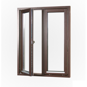 Lingyin Construction Materials Ltd tempered glass aluminum windows and doors casement windows factory sale