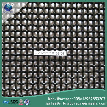 Lock Crimped Woven Mesh Grill