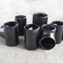 GB Standard Carbon Steel Pipe Welding Reducing Tee