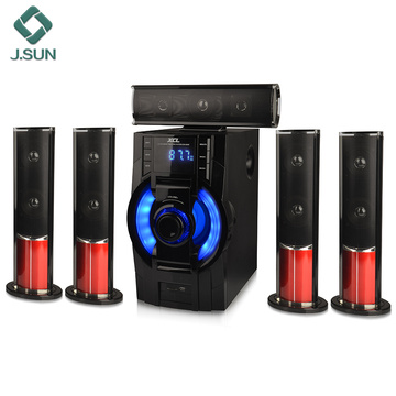 Home audio theater 5.1 channel speaker system