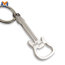 Good Quality for Metal Keychain Personalized guitar shape beer bottle opener keychain supply to Peru Suppliers