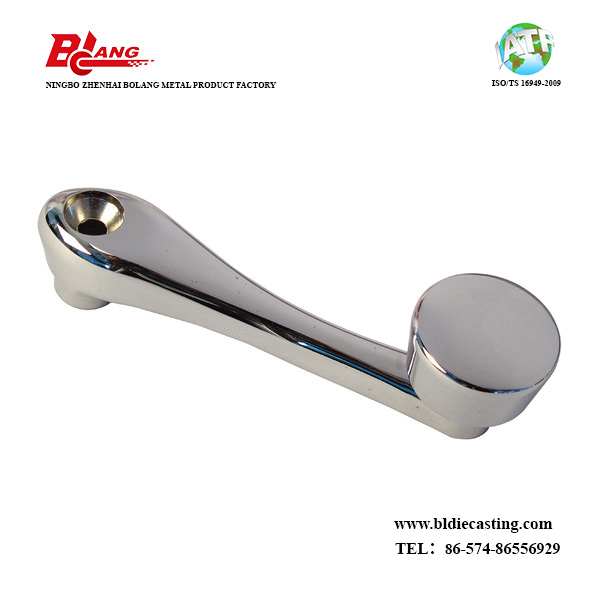 Zamak Die Casting Handle for Bathroom