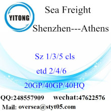 Shenzhen Port Sea Freight Shipping To Athens