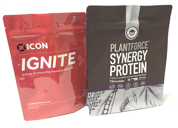 Customized Resealable Protein Powder Packaging Bag