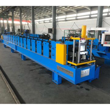 Metal rain gutter profile cold rolling forming machinery