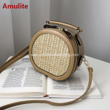 Woven Straw bag Cross Body Shoulder Girl bag