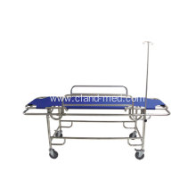 China Exporter for Foldable Stretcher Stainless steel medical rescue bed supply to Guadeloupe Manufacturers