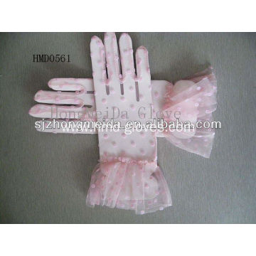 HMD Short Wedding Lace Gloves