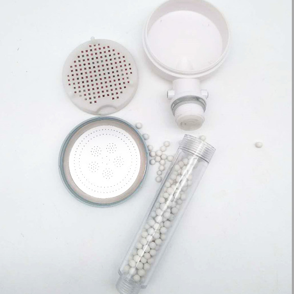 high pressure water filter shower head
