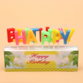Colorful Letter Birthday Candle