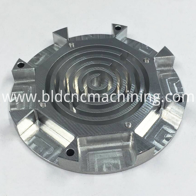 machining aluminium components