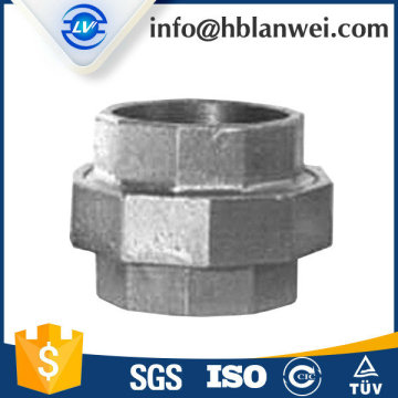 340 malleable iron pipe fitting conical union