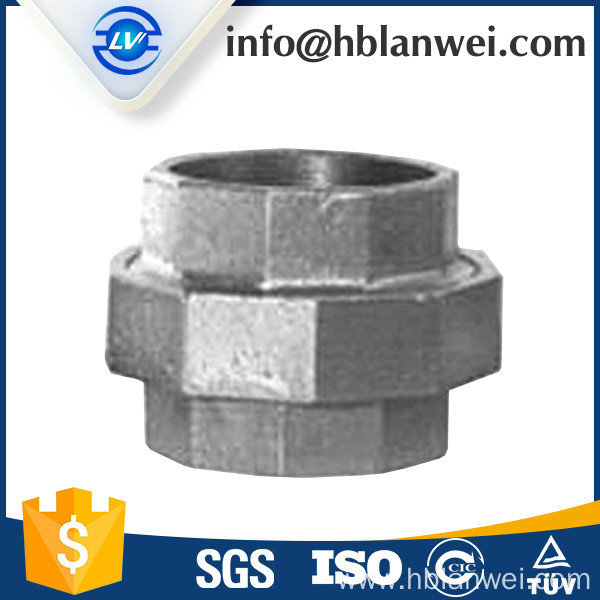 330 union malleable iron pipe fittings