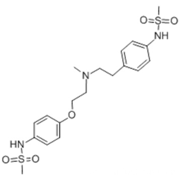 Methanesulfonamide,N-[4-[2-[methyl[2-[4-[(methylsulfonyl)amino]phenoxy]ethyl]amino]ethyl]phenyl]- CAS 115256-11-6
