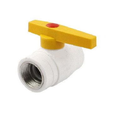ppr plastic water stop valve ppr ball valve for water use