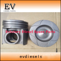 KOMATSU engine parts piston 6D125 piston ring