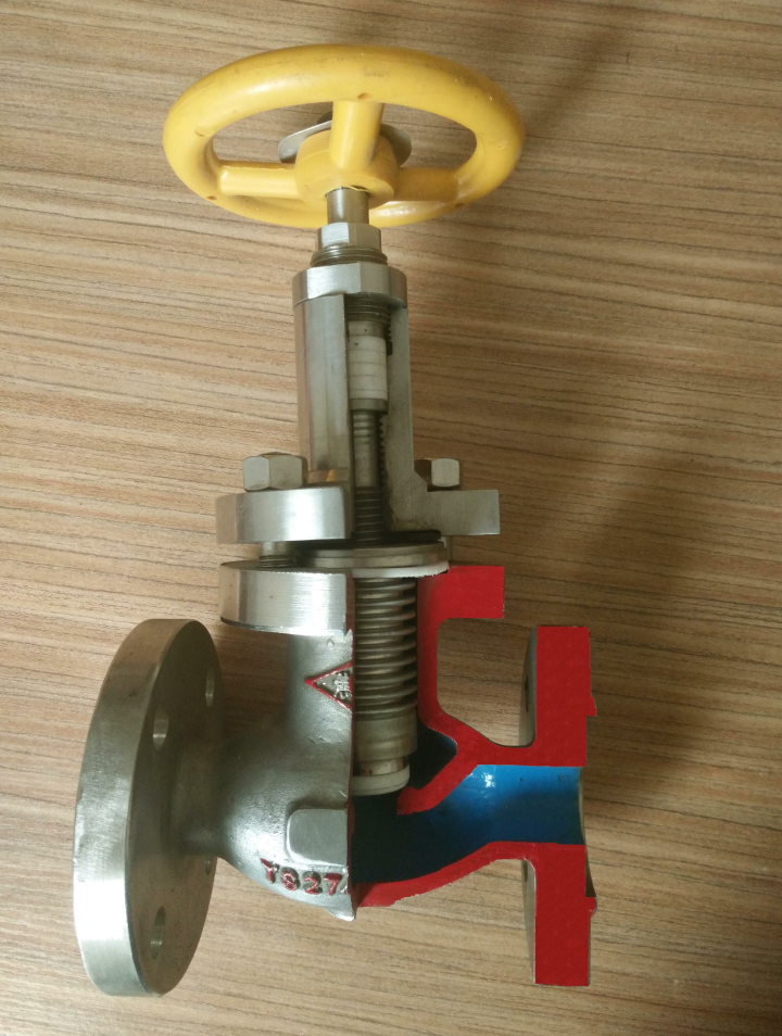 Maintenance Free Ammonia Bellows Globe Valve