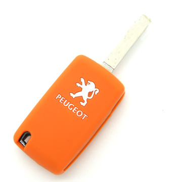 universal logo car key cover for Peugeot
