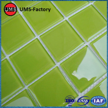 Factory source manufacturing for Blue Swimming Pool Tiles Green porcelain mosaic pool tiles supply to United States Suppliers