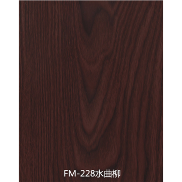 Anti-bacteria wood grain fiber calcium silicate wallboard