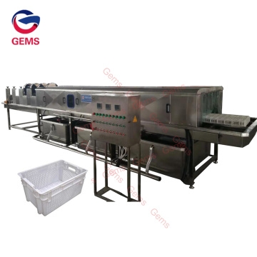 Industrial Poultry Chicken Crate Washing Machine Sale