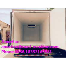 China for Special-Purpose Vehicle,Special Vehicles,Special Dump Truck Manufacturers and Suppliers in China Refrigerated Delivery Truck 4 X 2 8 Tons supply to Bangladesh Factories