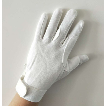 Deluxe dotted Gloves White