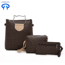 Single shoulder bag leisure three-piece suit for women