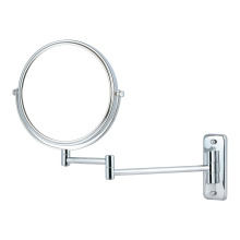 Double side round bathroom wall mirror