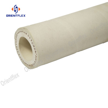 Water conveying synthetic rubber deck wash hose