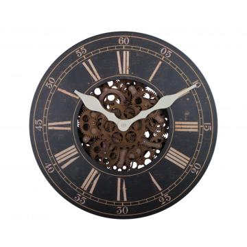 Large Wooden Hanging Wall Clock