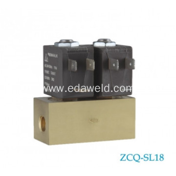 Brass And Aluminium Female AC220V Air Valve