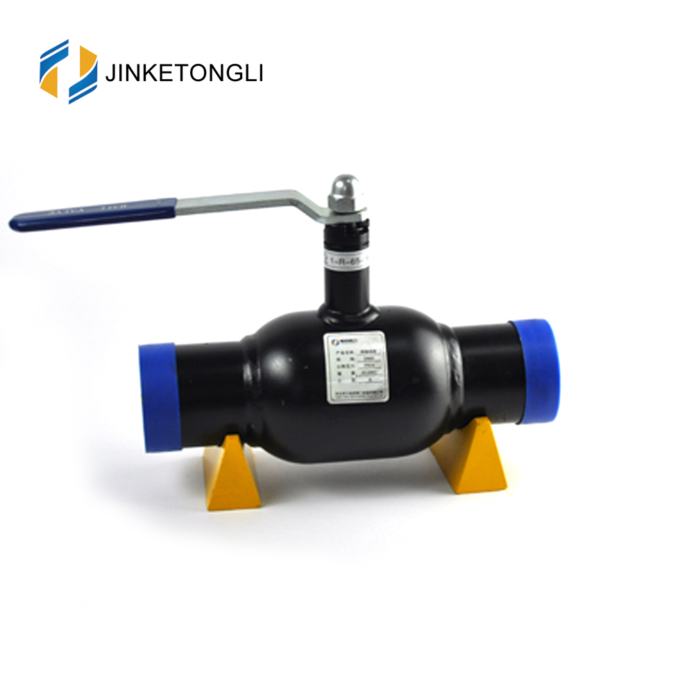 JKTL1W009 Stainless Steel Fully Welded Ball Valve for Gas oil PN16 PN25