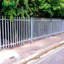 China Professional Supplier for Palisade steel fence Hot Sale Direct Factory Hot-dipped Galvanized Palisade Fence export to Sao Tome and Principe Manufacturer