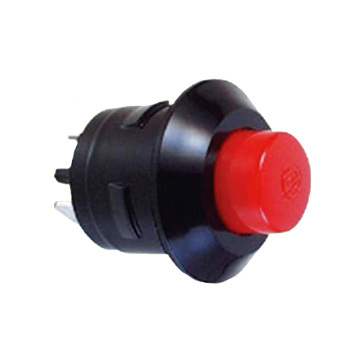 DC 10A Waterproof Automotive Push Button Switches