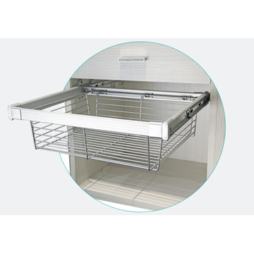 Home Pull-Out Wire Basket Drawer