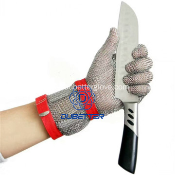 Stainless Steel Chain Mail Butcher Gloves
