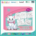 DISNEY THE ARISTOCATS-MARIE colouring set