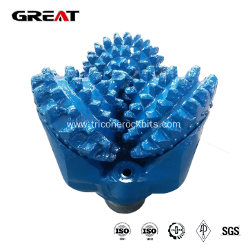 Tricone rock drill bits for soft formation