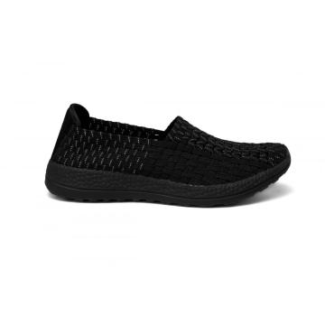 OEM China High quality for Mens Woven Sneakers Shoes,Mens Handmade Woven Microfiber Shoes, Mens Memory Foam Microfiber Shoes in china High-quality MD Outsole Woven Hollow Work Shoes supply to Indonesia Factory