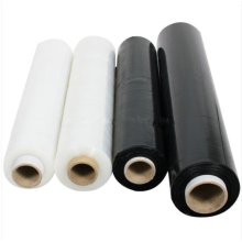 Best Quality for Polyethylene Colored Stretch Film Black PE opaque pallet wrap film export to Central African Republic Importers