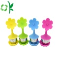 Silicone Flower Tea Infusers Cup Wholesale