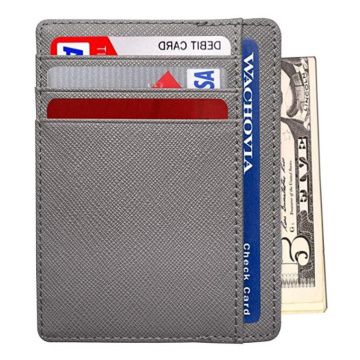 High Quality Leather Credit Card  Holder Case