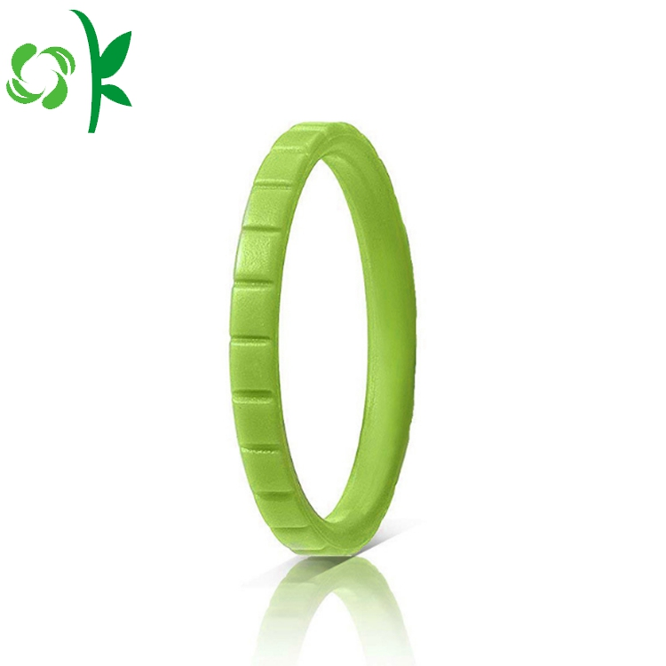 GREEN silicone ring