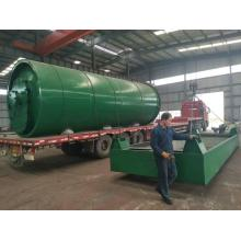 Wholesale Price for Tyre Pyrolysis Equipment waste rubber pyrolysis  oil output pyrolysis machines supply to Jordan Manufacturers