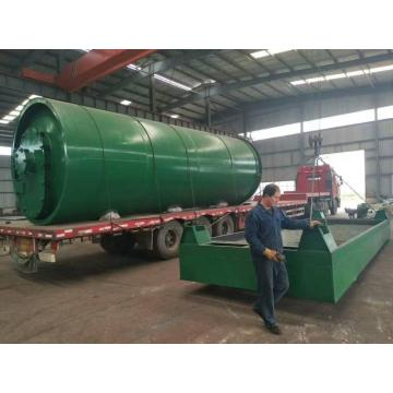 waste oil sludge pyrolysis processing machine