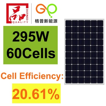 295Watt Monocrystalline Solar Panel